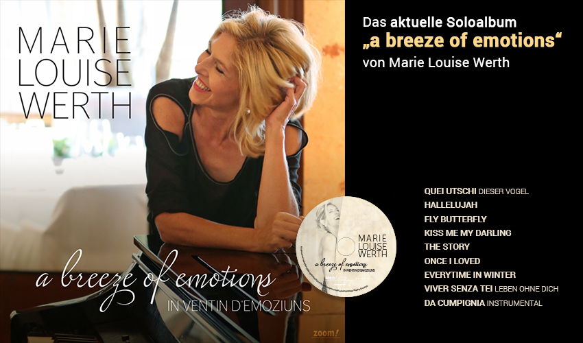 Marie Louise Werth - CD - a breeze of emotions